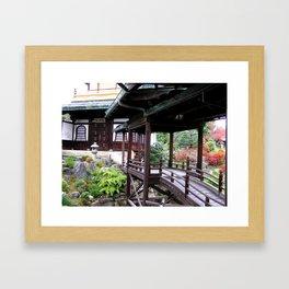Kyoto Temples #3 Framed Art Print