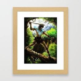Tribe Warrior Framed Art Print