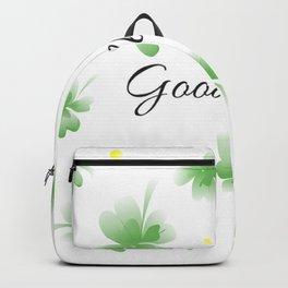 Four leaf clover design,good luck Backpack