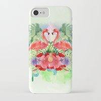 flamingo iPhone & iPod Cases featuring Flamingo by Kangarui by Rui Stalph