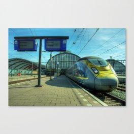 Amsterdam Eurostar Canvas Print