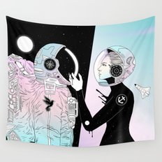 I Found a Place for Us (Summer Pastel) Wall Tapestry
