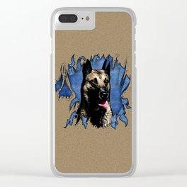 Belgian shepherd - Malinois Clear iPhone Case