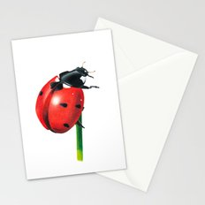 Ladybug | Colored pencil drawing Stationery Cards