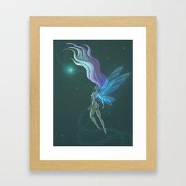 Fairy in the Ether Framed Art Print