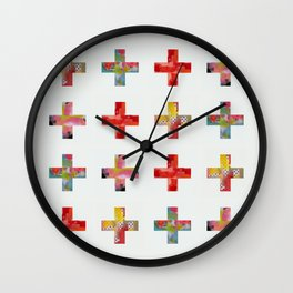 Plus Two Wall Clock