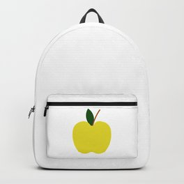 Yellow Apple Backpack