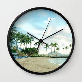 Kahala escape Wall Clock