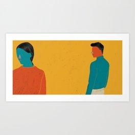 TOGETHER-10 Art Print