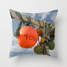 Flotsam Jetsam Throw Pillow