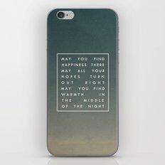 III. Find Happiness iPhone & iPod Skin