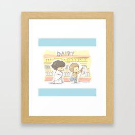 Groceries Framed Art Print