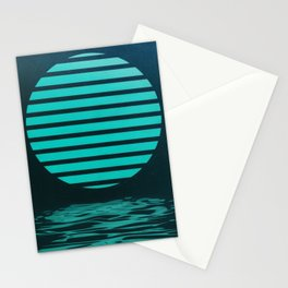 Symbol Over Water Stationery Cards