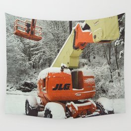 Cherry Picker Wall Tapestry