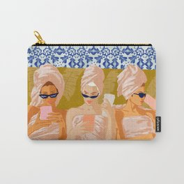 Ladies-Only Club #illustration #painting Carry-All Pouch