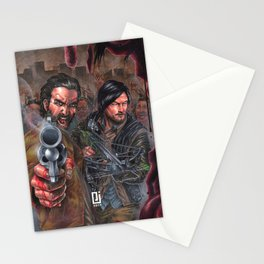 Walking Zombies! Stationery Cards