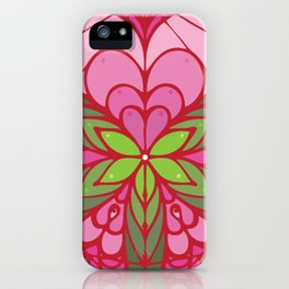 LOVE grows life seed iPhone Case