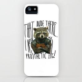 My Rocket Raccoon iPhone Case