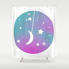 Minimalist Space 4: Homeward Shower Curtain