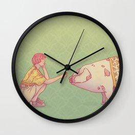 Signe du cochon Wall Clock