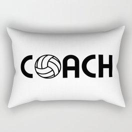Volleyball Coach Rectangular Pillow