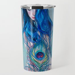 Peafowl Flow Travel Mug