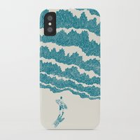 ilovedoodle iPhone & iPod Cases featuring To the sea by I Love Doodle