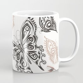Butterfly design classic elegant graphic design Coffee Mug