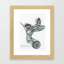 Labyrinthine Framed Art Print