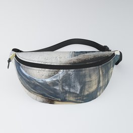 Wood Anchor and Rope Fanny Pack