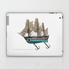 To catch a sea monster Laptop & iPad Skin