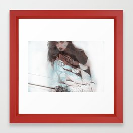 Broken Tempers Framed Art Print