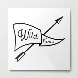 Wild Ones Metal Print