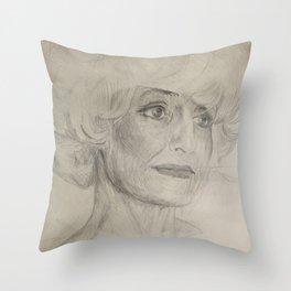 Home Decor Drawing Woman Digital Digital Sketch Modern Room Wall Art Wall Hanging Throw Pillow