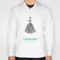 capricorn Hoodies featuring Capricorn by Cansu Girgin