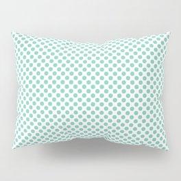 Lucite Green Polka Dots Pillow Sham