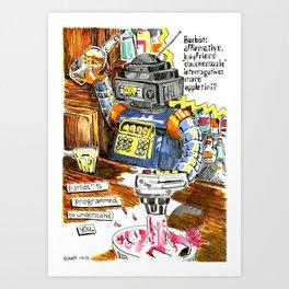 BarBot Art Print