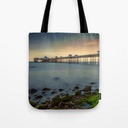 Pier Seascape Tote Bag