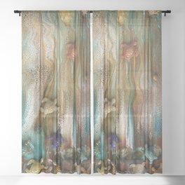 Wibble Wabble Sheer Curtain