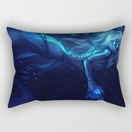 Deep Sea Mermaid Rectangular Pillow