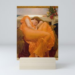 Frederic Leighton's Flaming June Mini Art Print