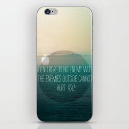 No Enemy iPhone Skin