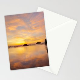 The Cliff At Moonstone Stationery Cards