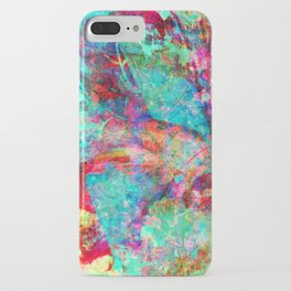 abstract orchid iPhone Case