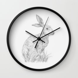 The Hare Wall Clock
