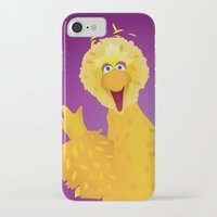 muppets iPhone & iPod Cases featuring Big Bird - Muppets Collection by Bryan Vogel