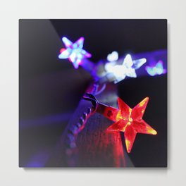 Stars of Fourth of July Metal Print