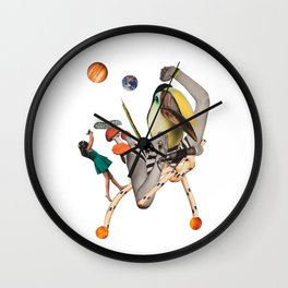 Pelican punk Wall Clock
