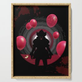 IT Clown - You'll float too Serving Tray