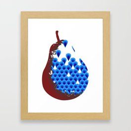 The Pear Framed Art Print